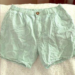 Chubbie green shorts! Size large!